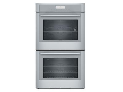 "30"" Thermador Masterpiece Series Double Wall Oven - MED302WS"