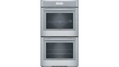 """30"""" Thermador Masterpiece Series Double Wall Oven - MED302WS"""