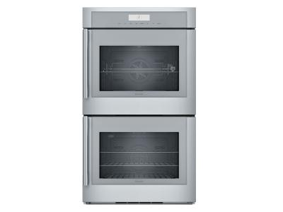 "30"" Thermador Masterpiece  Series Double Wall Oven, Right-Side Swing Door - MED302RWS"