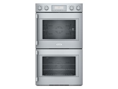 "30"" Thermador Professional  Series Double Wall Oven, Right-Side Swing Door - POD302RW"