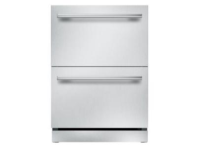 "24"" Thermador  Under-Counter Double Drawer Refrigerator/Freezer - T24UR910DS"