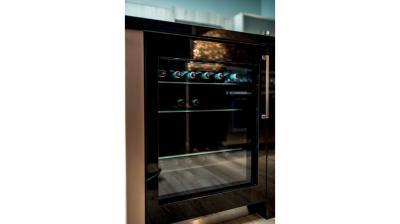 """24"""" Thermador  Under-Counter Glass Door Refrigerator - T24UR900LP"""
