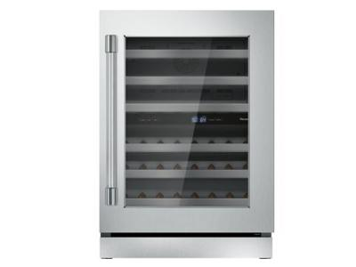 "24"" Thermador Under-Counter Wine Reserve with Glass Door - T24UW920RS"