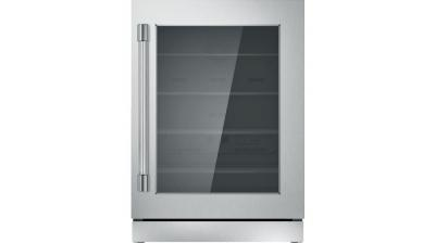 "24"" Thermador Under-Counter Glass Door Refrigerator - T24UR920RS"