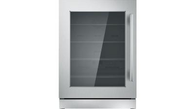 """24"""" Thermador  Under-Counter Glass Door Refrigerator - T24UR910LS"""