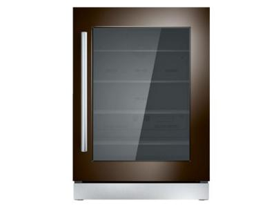 "24"" Thermador Under-Counter Glass Door Refrigerator - T24UR900RP"