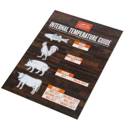 Traeger Internal Temperature Guide Grill Magnet - BAC462