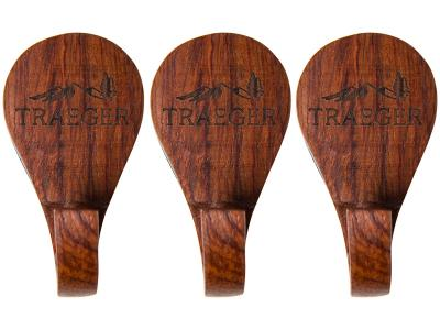 Traeger Grill Hopper Magnetic Wooden Hooks - 3 Piece - BAC419