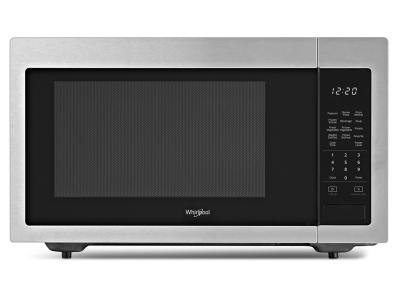 "22"" Whirlpool 1.6 cu. ft. Countertop Microwave with 1,200-Watt Cooking Power - YWMC30516HZ"
