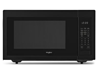 "22"" Whirlpool 1.6 cu. ft. Countertop Microwave with 1,200-Watt Cooking Power - YWMC30516HB"