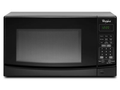 "18"" Whirlpool 0.7 cu. ft. Countertop Microwave with Electronic Touch Controls - WMC10007AB"