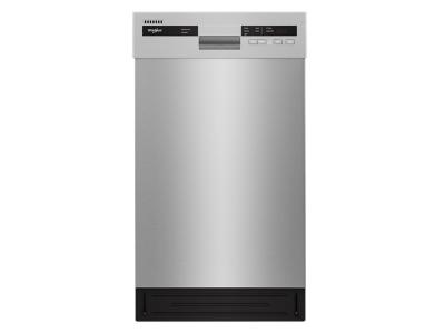 "18"" Whirlpool Small-Space Compact Dishwasher with Stainless Steel Tub - WDF518SAHM"