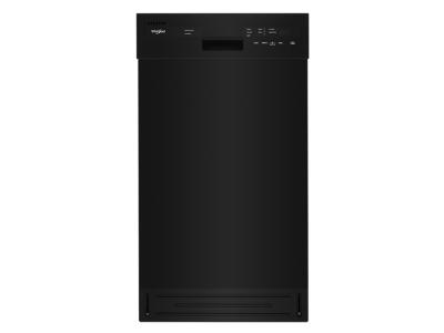 """18"""" Whirlpool Small-Space Compact Dishwasher with Stainless Steel Tub - WDF518SAHB"""