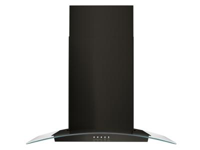 "30"" Whirlpool Concave Glass Wall Mount Range Hood - WVW51UC0HV"