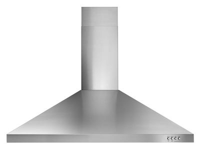 "36"" Whirlpool Contemporary Stainless Steel Wall Mount Range Hood - WVW53UC6FS"