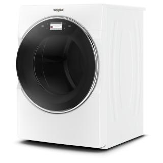 """27"""" Whirlpool 7.4 Cu. Ft. Smart Front Load Gas Dryer With Remote Start - WGD9620HW"""