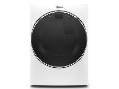 "27"" Whirlpool R 7.4 cu.ft Smart Front Load Gas Dryer with Remote Start - WGD9620HW"