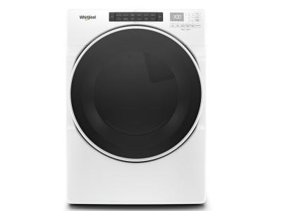 "27"" Whirlpool R 7.4 cu.ft Front Load Gas Dryer with Intiutitive Touch Controls - WGD6620HW"