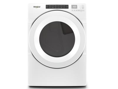 "27 "" Whirlpool 7.4 cu.ft Front Load Gas Dryer with Intiutitive Touch Controls - WGD5620HW"