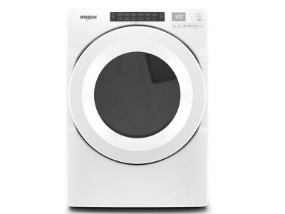 """27"""" Whirlpool 7.4 Cu. Ft. Front Load Gas Dryer With Intiutitive Touch Controls - WGD560LHW"""