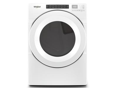 "27"" Whirlpool 7.4 cu.ft Front Load Electric Dryer with Intiutitive Touch Controls - YWED560LHW"