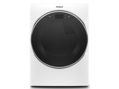 """27"""" Whirlpool 7.4 Cu. Ft. Smart Front Load Electric Dryer - YWED9620HW"""