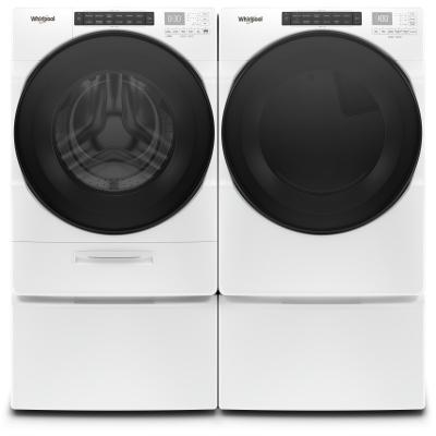 "27"" Whirlpool 7.4 cu.ft Front Load Electric Dryer with Intiutitive Touch Controls - YWED6620HW"