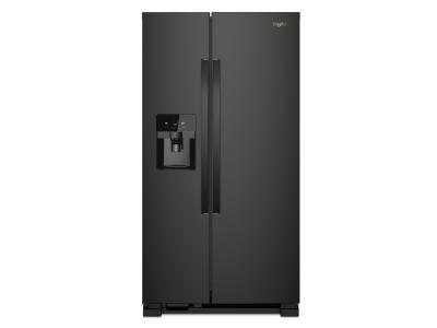 "36"" Whirlpool Side-by-Side Refrigerator - 25 cu. ft. - WRS325SDHB"
