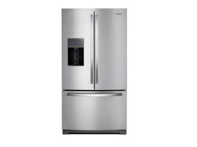 "36"" Whirlpool Wide French Door Refrigerator - 27 cu. ft. - WRF767SDHZ"