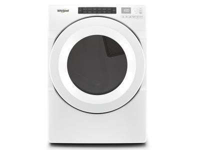 "27"" Whirlpool 7.4 cu.ft Front Load Electric Dryer with Intiutitive Touch Controls - YWED5620HW"