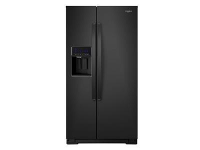 "36"" Whirlpool 21 Cu. Ft. Wide Counter Depth Side-by-Side Refrigerator - WRS571CIHB"