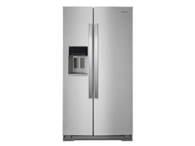 "36"" Whirlpool 21 Cu. Ft. Wide Counter Depth Side-by-Side Refrigerator - WRS571CIHZ"