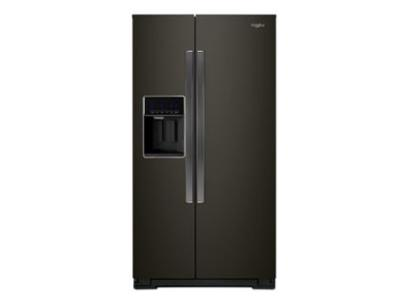 "36"" Whirlpool Wide Counter Depth Side-by-Side Refrigerator - 21 cu. ft. - WRS571CIHV"