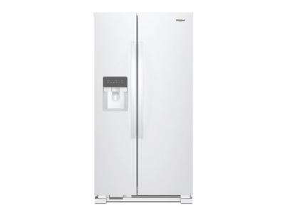 "33"" Whirlpool Side-by-Side Refrigerator - 21 cu. ft. - WRS331SDHW"