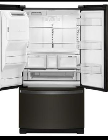 "36"" Whirlpool 27 Cu. Ft. French Door Refrigerator - WRF757SDHV"