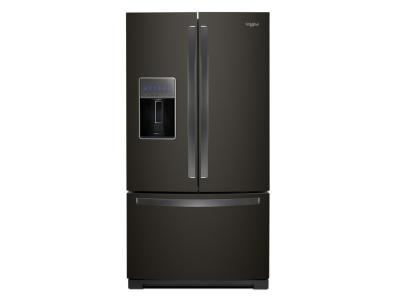 "36"" Whirlpool French Door Refrigerator - 27 cu. ft. - WRF757SDHV"