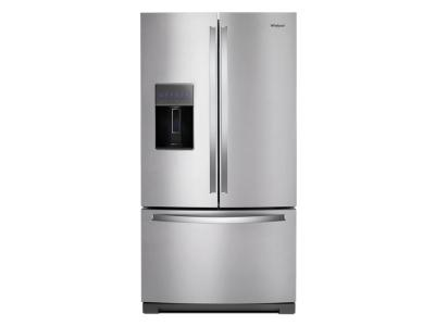 "36"" Whirlpool French Door Refrigerator - 27 cu. ft. - WRF757SDHZ"