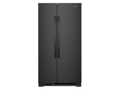 "36"" Whirlpool Side-by-Side Refrigerator - 25 cu. ft. WRS315SNHB"