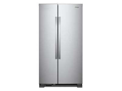 "36"" Whirlpool Side-by-Side Refrigerator - 25 cu. ft. - WRS315SNHM"