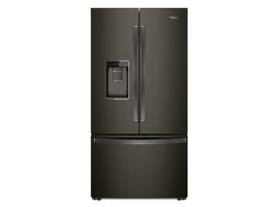 "36"" Whirlpool Counter Depth French Door Refrigerator - 24 cu. ft. - WRF954CIHV"