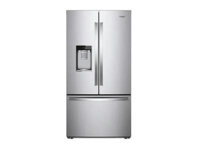 "36"" Whirlpool  Wide Counter Depth French Door Refrigerator - 24 cu. ft. - WRF954CIHZ"