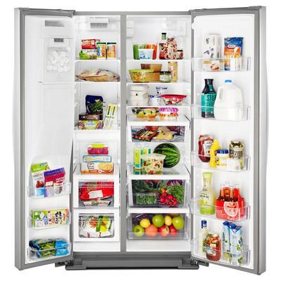"""36"""" Whirlpool  174 Side-by-Side Refrigerator - 28 cu. ft. - WRS588FIHZ"""