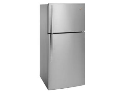 "30"" Whirlpool  174 Top-Freezer Refrigerator - EZ Connect Icemaker Kit Compatible- 19.2 cu. ft. - WRT519SZDG"
