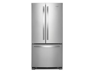 "33"" Whirlpool 22 cu. ft. French Door Refrigerator with Accu-Chill system - WRF532SNHZ"
