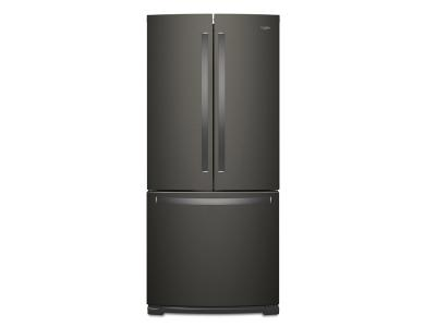 "30"" Whirlpool French Door Refrigerator - 20 cu. ft. WRF560SFHV"