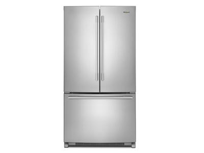 "36"" Whirlpool French Door Refrigerator with Crisper Drawer - 25 cu. ft. - WRFA35SWHZ"
