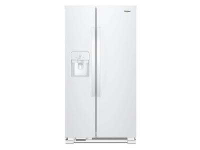 "33"" Whirlpool  174 Side-by-Side Refrigerator - 21 cu. ft. - WRS321SDHW"
