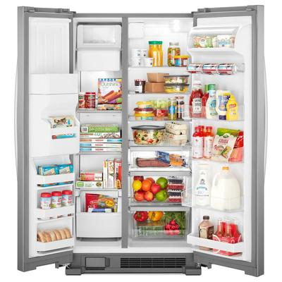"33"" Whirlpool  174  Side-by-Side Refrigerator - 21 cu. ft. - WRS321SDHZ"