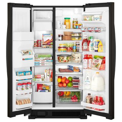 "33"" Whirlpool  174  Side-by-Side Refrigerator - 21 cu. ft. - WRS321SDHV"
