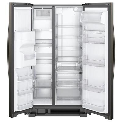 """33"""" Whirlpool  174  Side-by-Side Refrigerator - 21 cu. ft. - WRS321SDHV"""